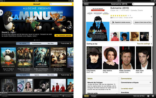 Allociné and IMDB Screenshot
